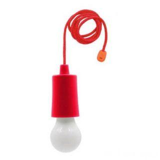 Светодиодная лампочка на шнурке Led Stretch Switch Light, Красный