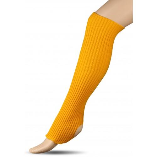 Гетры для гимнастики и танцев (шерсть) СН1 желтые