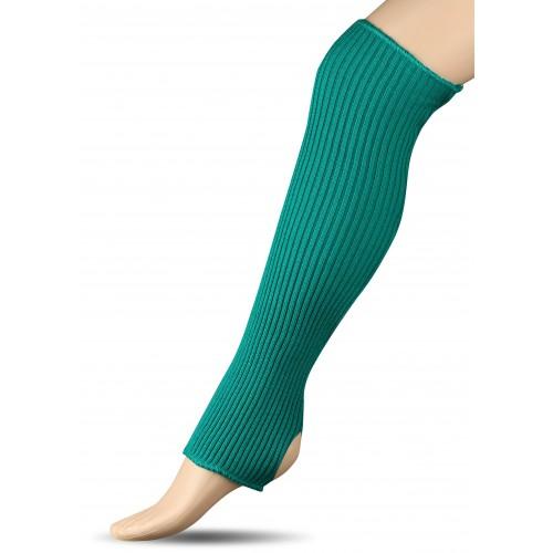 Гетры для гимнастики и танцев (шерсть) СН1 зеленые