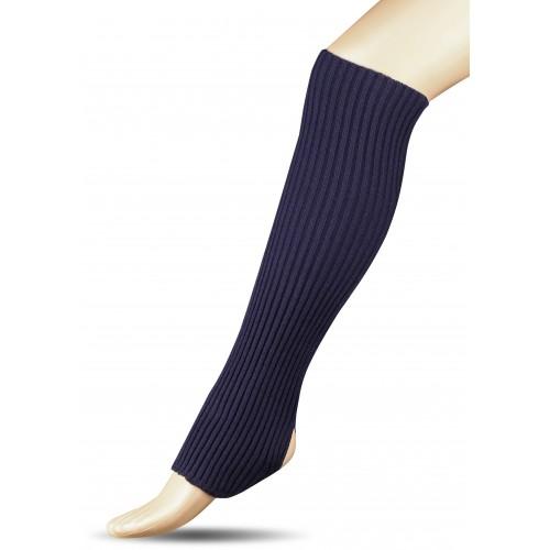 Гетры для гимнастики и танцев (шерсть) СН1 темно-синие