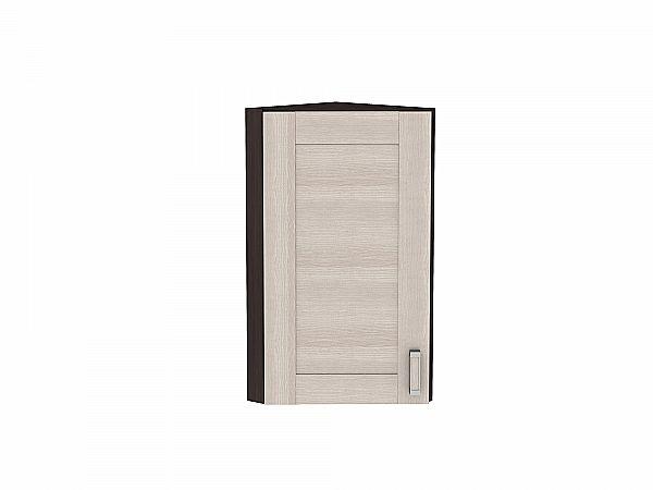 Шкаф верхний торцевой Лофт ВТ224Н (Cappuccino Veralinga)