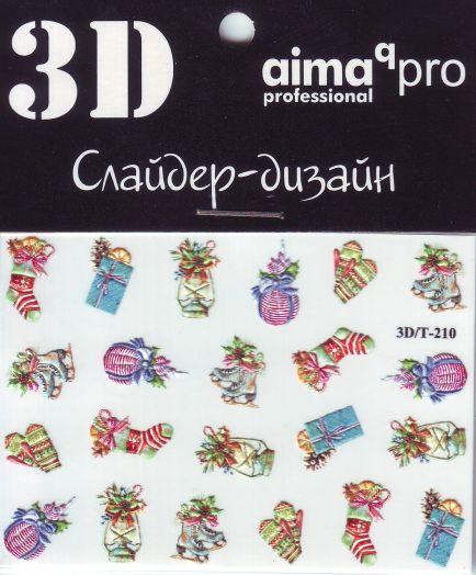 3D Слайдер-дизайн aimaqPRO 3D/Т210 новый год