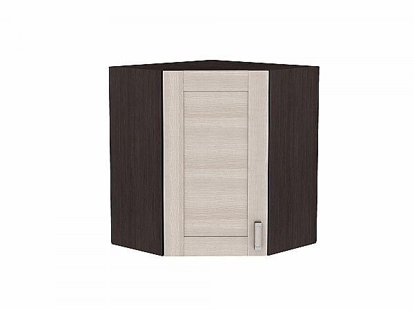 Шкаф верхний угловой Лофт ВУ599 (Cappuccino Veralinga)