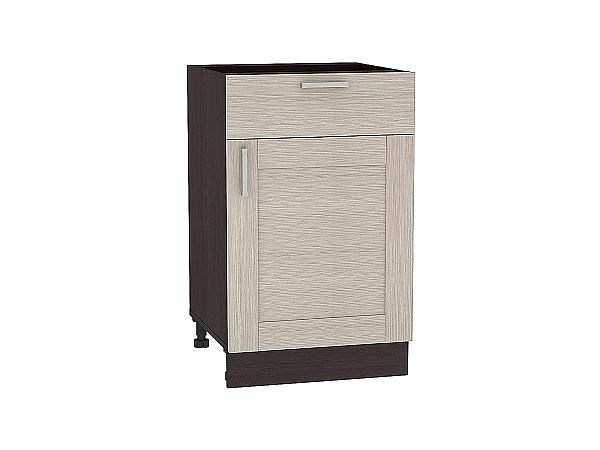 Шкаф нижний Лофт Н501 (Cappuccino Veralinga)