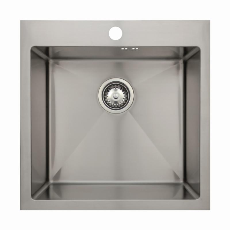 Врезная кухонная мойка Seaman ECO Marino SMB-5151S.A 51х51см нержавеющая сталь