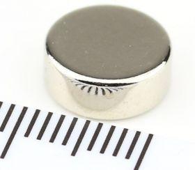 Магнит неодимовый диск 10х4 мм