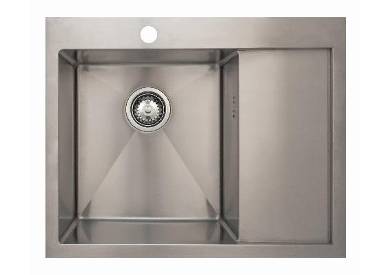 Врезная кухонная мойка Seaman ECO Marino SMB-6351RS.B 63х51см нержавеющая сталь
