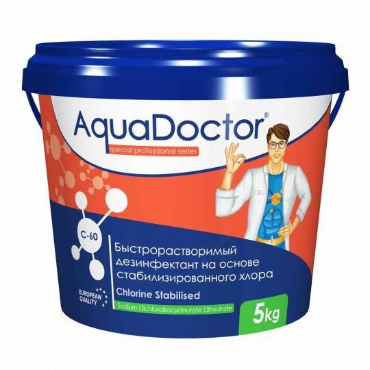 Хлор быстрого действия в гранулах AquaDoctor C-60