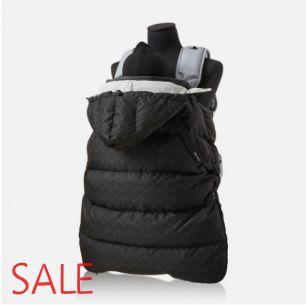 """Накидка-пуховик (гусиный пух) на эрго-рюкзак, хипсит, коляску """"Hangarian Z-Black"""""""