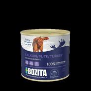 BOZITA Мясной паштет для собак, с индейкой. 625г