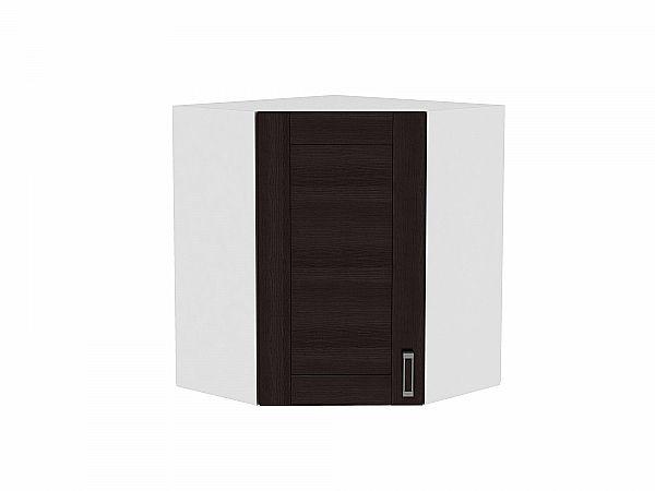 Шкаф верхний угловой Лофт ВУ599 (Wenge Veralinga)