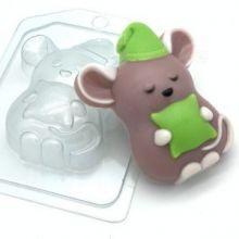 "Форма для мыла и шоколада ""Мышь-соня"""