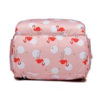 Сумка-рюкзак для мамы Mummy Bag Фламинго (6)