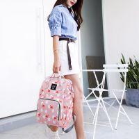 Сумка-рюкзак для мамы Mummy Bag Фламинго (7)