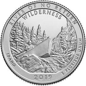 Фрэнк Черч Ривер (Айдахо) 25 центов США 2019 Двор  S