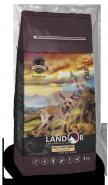 Landor Adult Small Breed Dog Lamb with rice Сухой корм для собак мелких пород, с ягненком и рисом. 15 кг