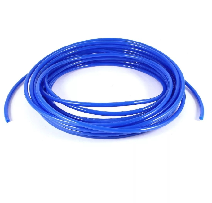 Шланг ПВХ, повышенной жесткости, 10*6 мм, 1 метр, синий