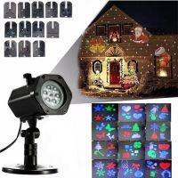 Голографический Светодиодный Проектор DIY Projection Lamp, 12 слайдов