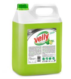 Средство для мытья посуды Velly Premium лайм и мята канистра 5 кг-купить в Челябинске | Моющие средства для посуды цена