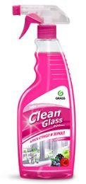 Clean Glass блеск стекол и зеркал лесные ягоды 600мл, купить в Челябинске| Очиститель стекол и зеркал GRASS