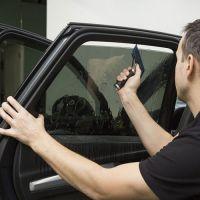 Тонировка заднего бокового стекла авто