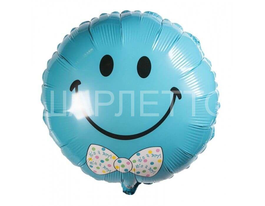 "Круг ""It's a boy"" голубой"