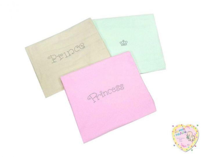 Пеленки для новорожденных со стразами P-PE600-IT (интерлок 95х110)