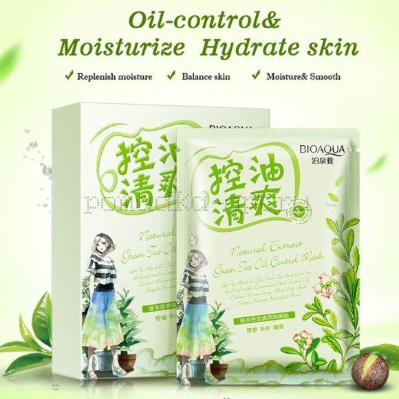 Bioaqua Освежающая Маска с маслом чайного дерева Natural Extrac