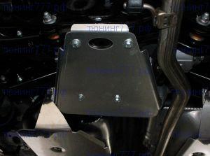 Защита заднего дифференциала, ТСС, алюминий 4мм