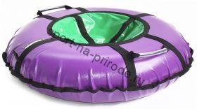 Тюбинг Hubster Ринг Pro фиолетовый-зеленый 90 см