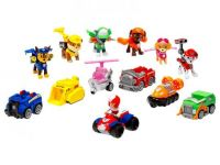 Команда щенков–спасателей (7 героев) + машинки