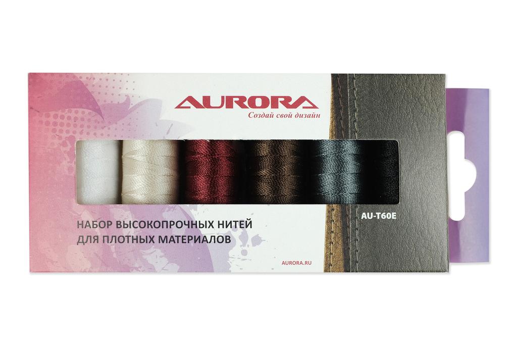 Набор швейных ниток AURORA арт. AU-Т60Е