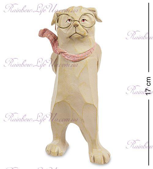 """Фигурка собака в шарфике """"ED"""""""
