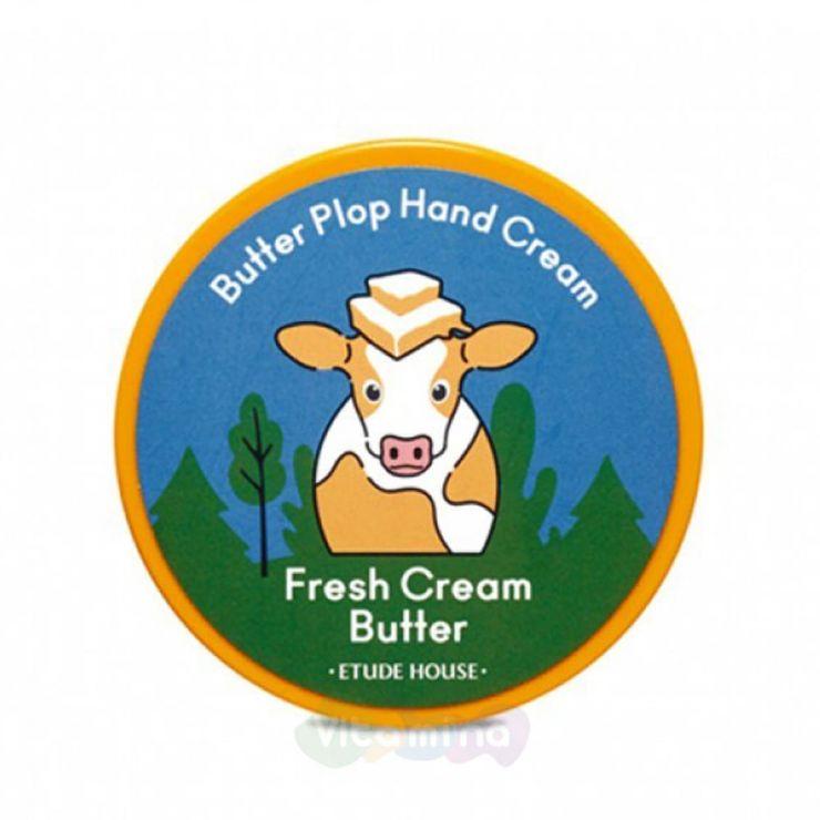 Etude House Крем для рук Butter Plop Hand Cream, 25 мл