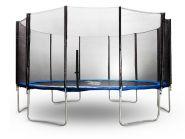Батут StartLine Fitness 14 футов (427см) с внешней сеткой