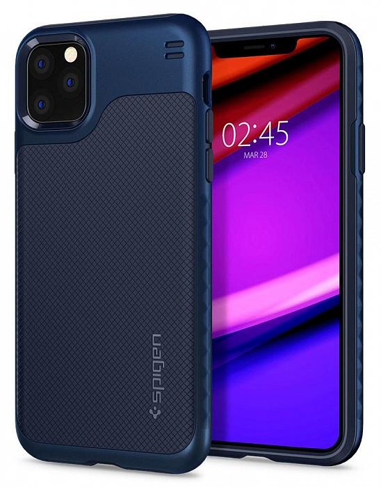 Чехол SGP Spigen Hybrid NX для iPhone 11 Pro синий