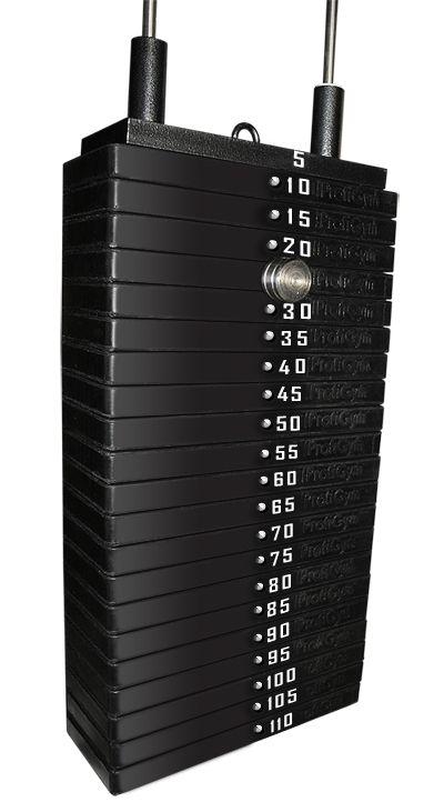 Грузовый стек для тренажеров 120 кг