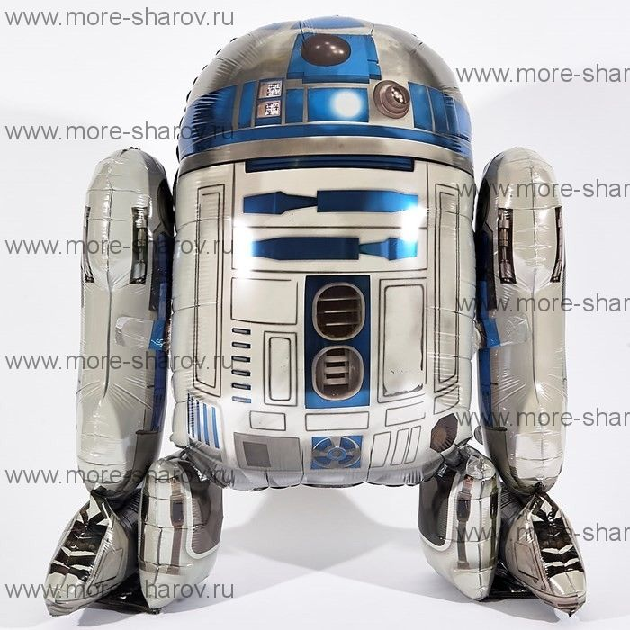 Шар R2D2 112 см Звездные войны