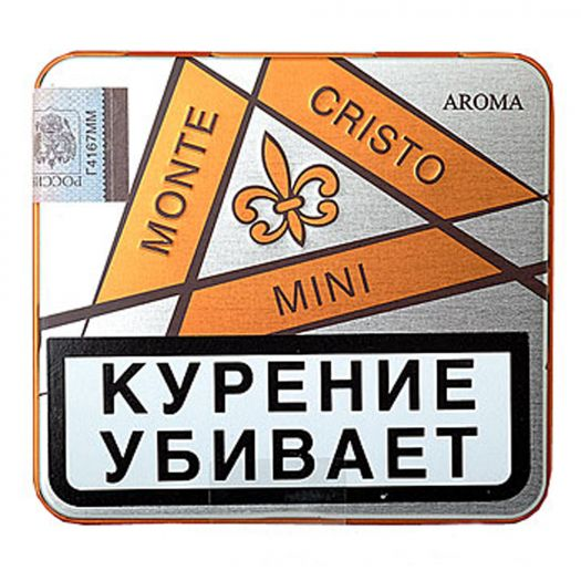 Сигариллы Montecristo Mini TH Filter Aroma