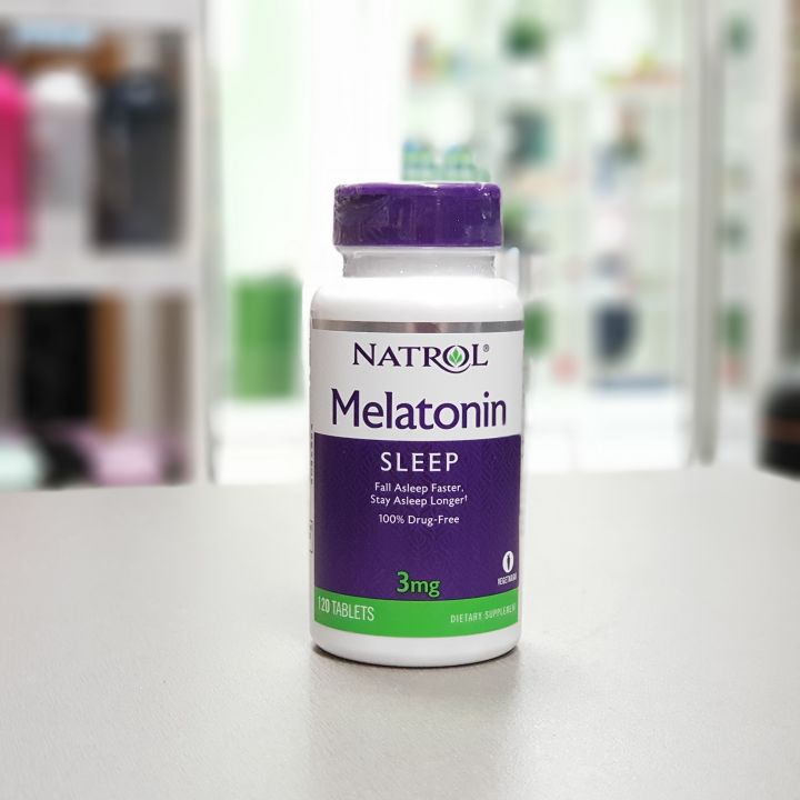 Natrol - Melatonin 3mg (120 таб)