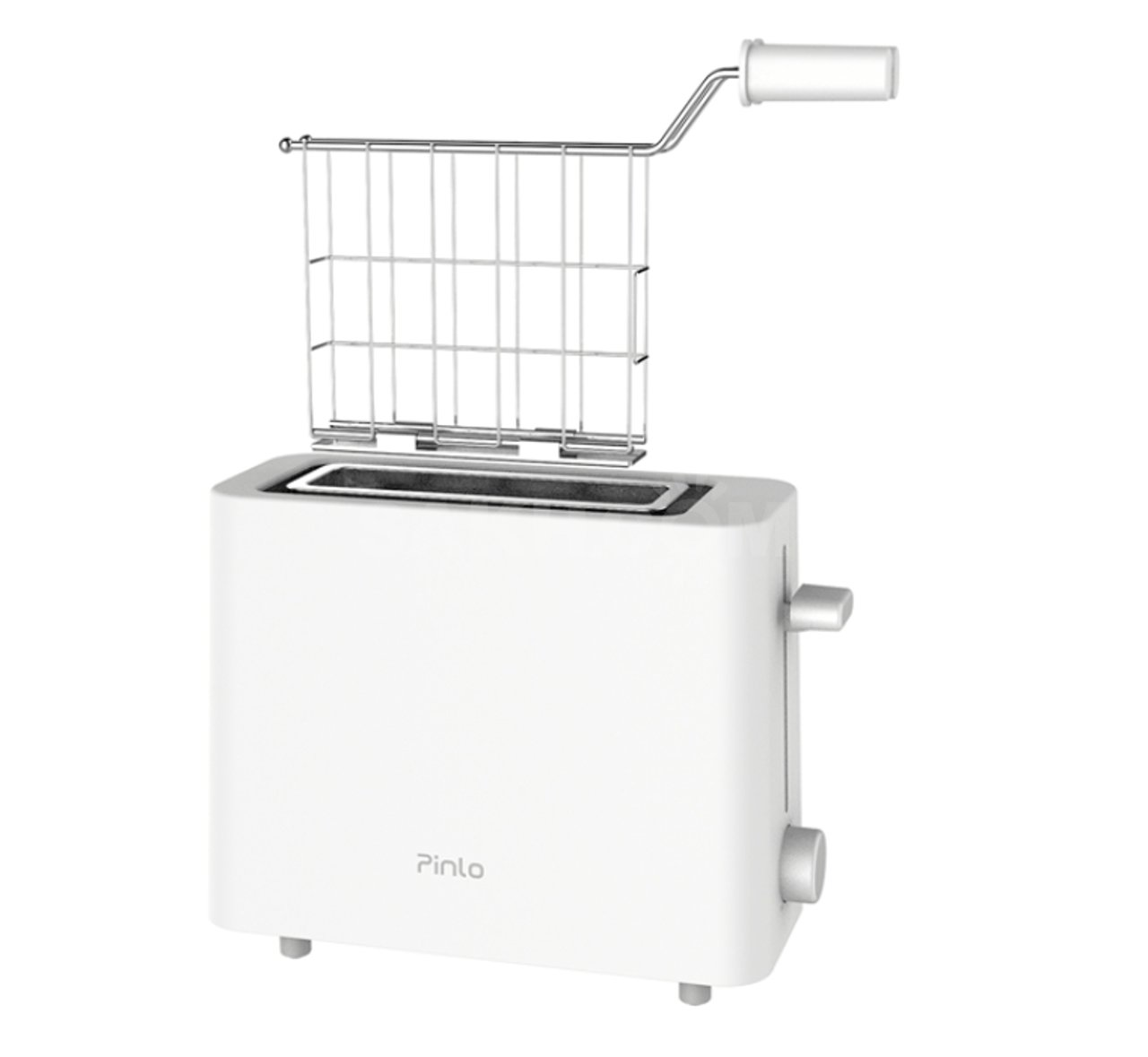 Тостер-гриль Pinlo Mini Toaster  White