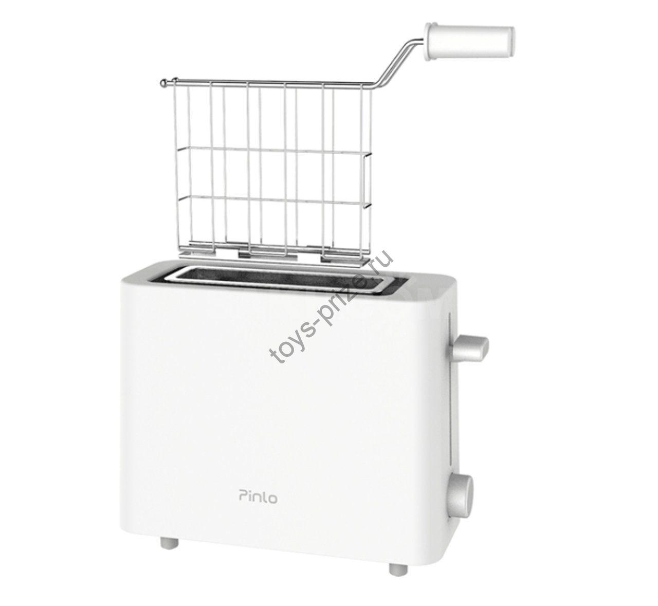 Тостер-гриль Pinlo Mini Toaster  White