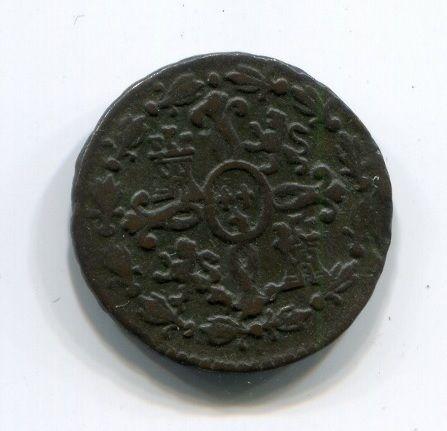 2 мараведи 1777 года Испания XF-