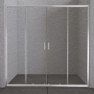 Душевая дверь в нишу BelBagno UNIQUE-BF-2-150/180-P-Cr