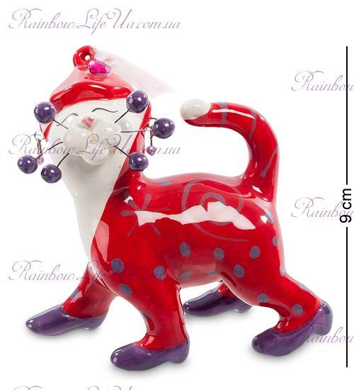 "Фигурка кошка Кэтти в вечернем наряде ""Pavone"""