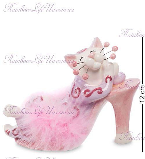 """Фигурка кошка розовые мечты """"Pavone"""""""