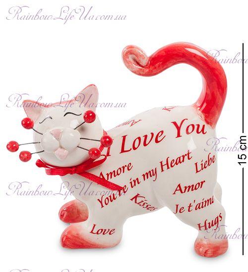 """Фигурка кот Love you """"Pavone"""""""