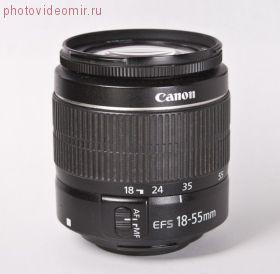 Объектив Canon EF-S 18-55mm f/ 3.5-5.6 III