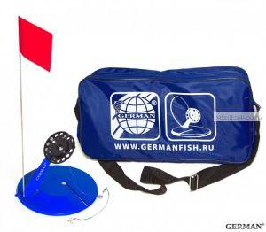 Жерлица в сумке German оснащенная большая (10 шт) сумка синяя