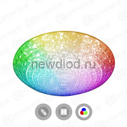 Управляемый светодиодный светильник AKRILIKA RGB 36W R-388-CLEAR/WHITE-220-IP20/2019 Estares